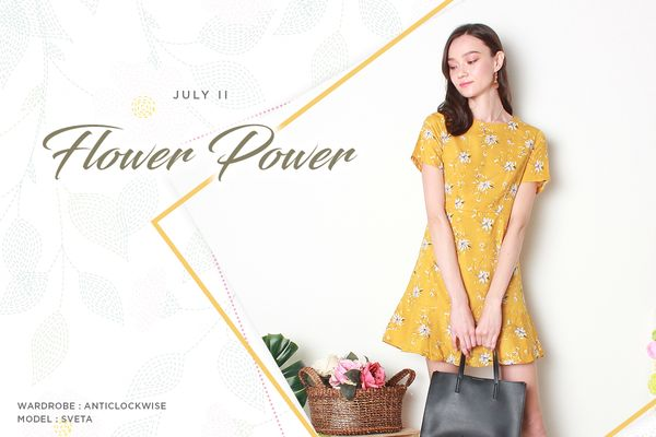 JULY II - FLOWER POWER