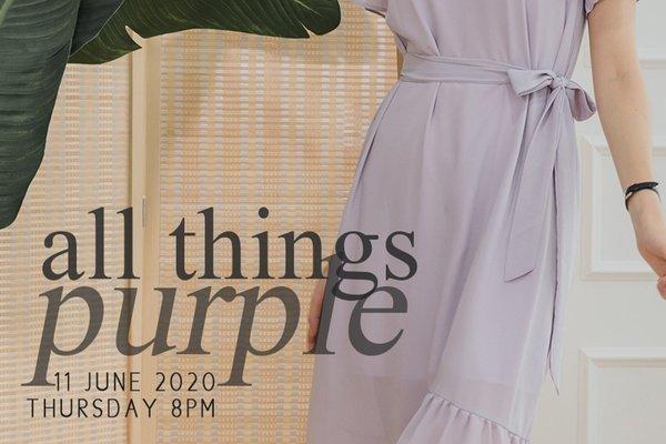 June II - All Things Purple