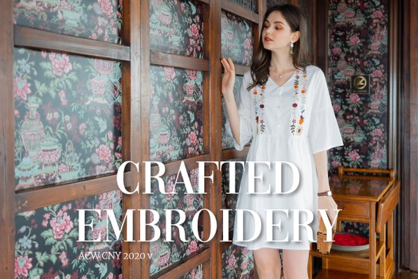CNY V - CRAFTED EMBROIDERY