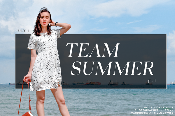 JULY I - TEAM SUMMER