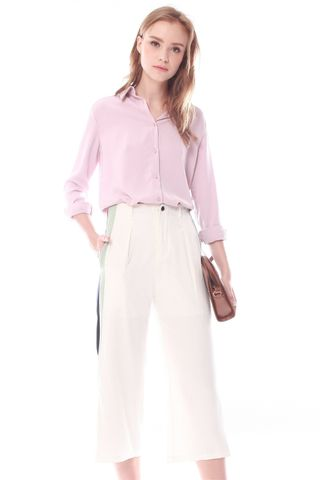 ACW Button Down Shirt in Dusty Pink