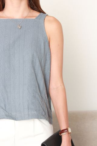 ACW Eyelet Cut In Top in Ash Blue