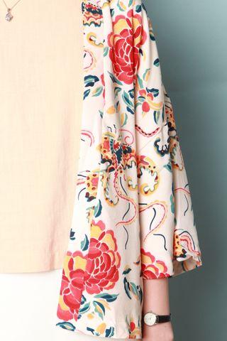 *BACK IN STOCK* Floral Kimono