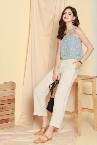 Linen Pocket Trousers