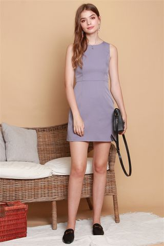 ACW Classic Sheath Dress in Lavender