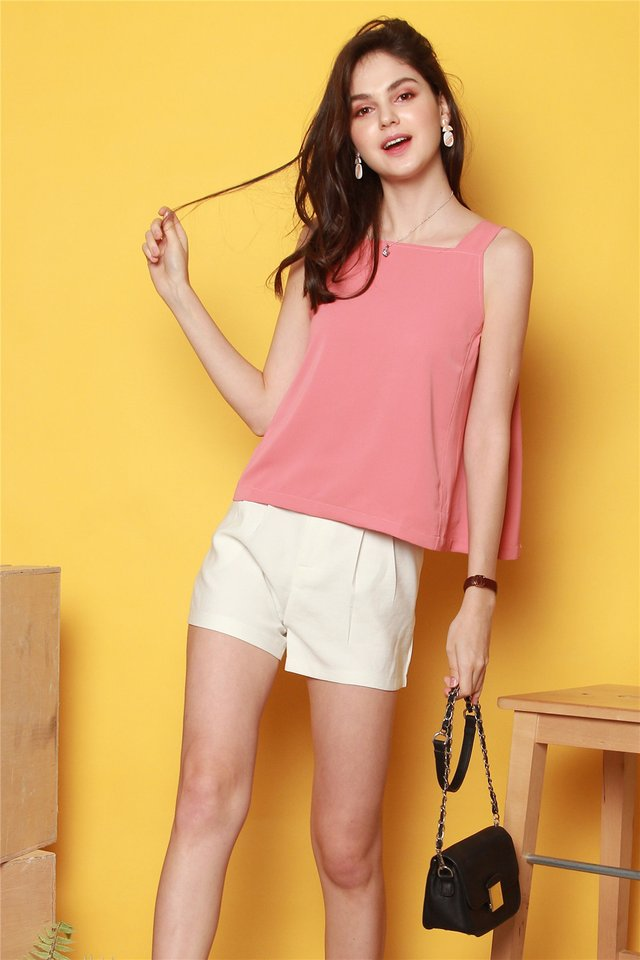 ACW Basic Cut In Top in Peach