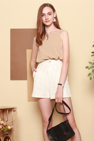 *BACK IN STOCK* ACW Basic Cut In Top in Sand