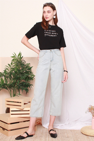 Denim Stretchy Loose Fit Jeans