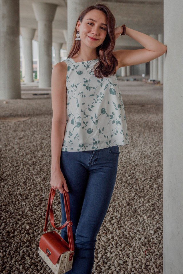 ACW Botanical Prints Cut In Top in Mint