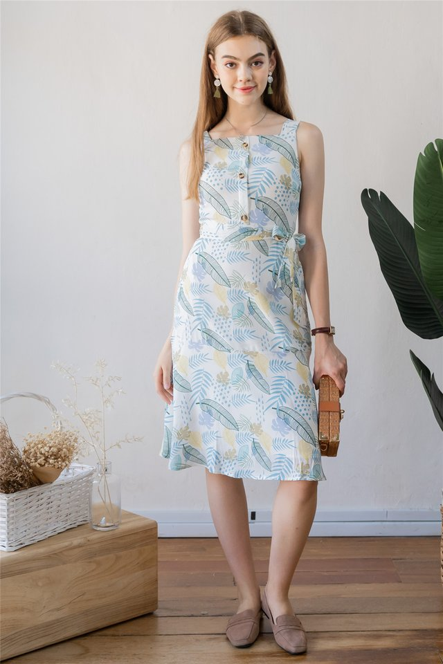 Ode to Summer Midi Dress in Daffodil