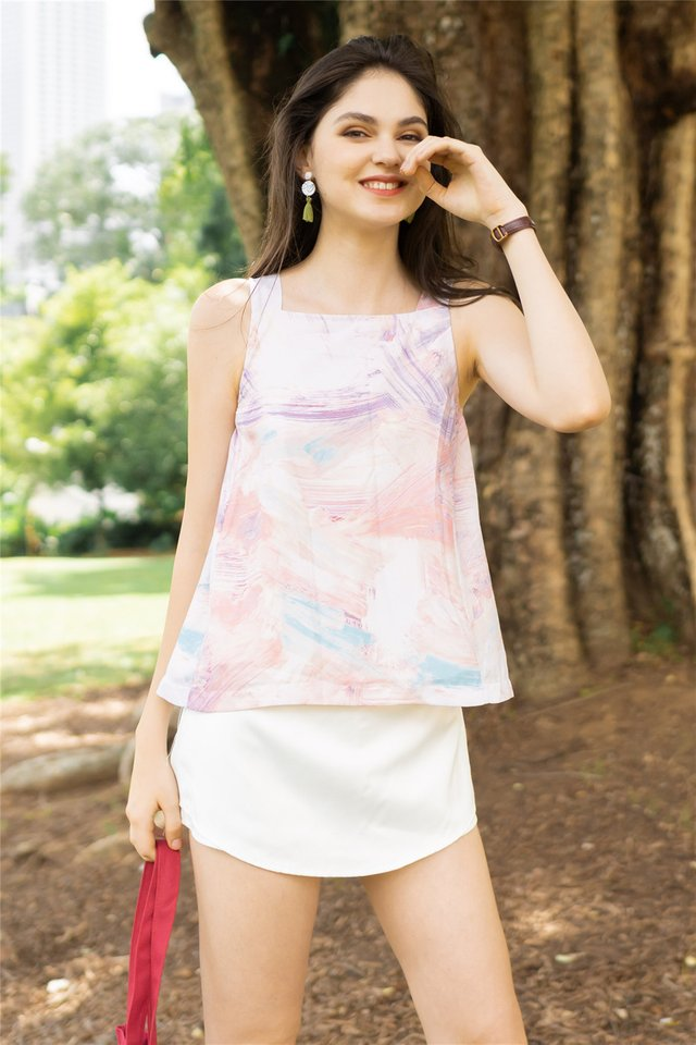 ACW Ombre Hues Cut In Top in Lilac