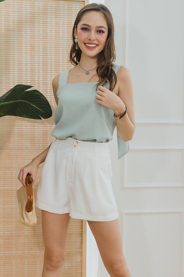 *Backorder* Knot Back Flare Swing Top in Melon