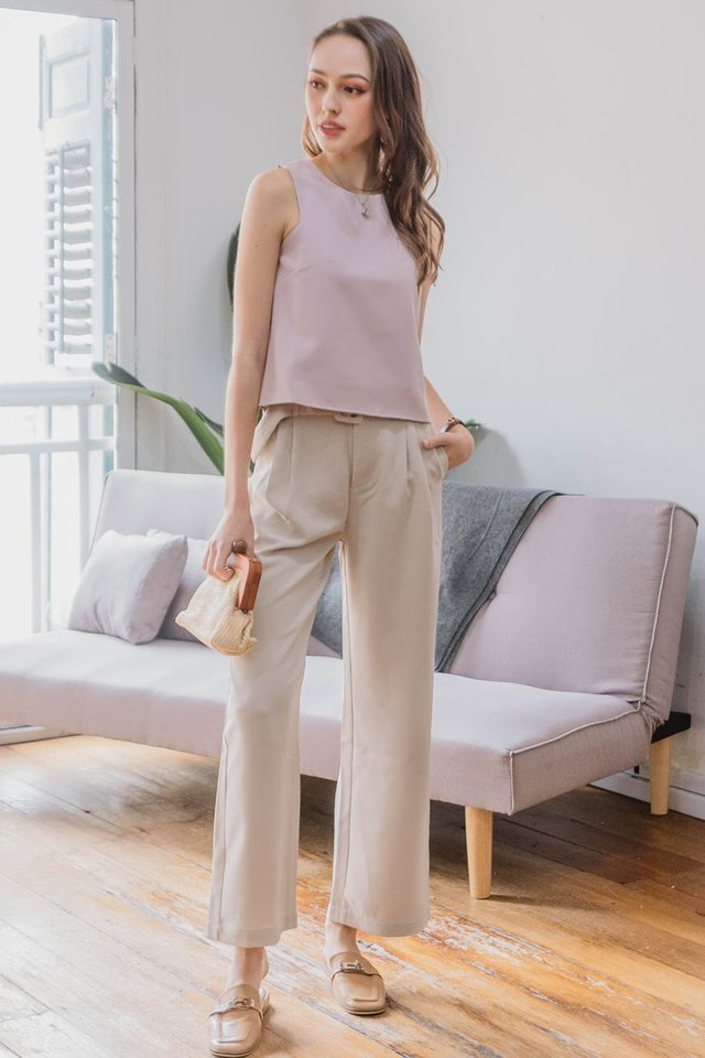 ACW Basic Cut In Top in Blush